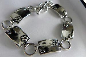 【送料無料】ブレスレット アクセサリ― イスラエルフルスターリングシルバーブレスレットstunning 15g shablool didae israel 925 stamped full hm sterling silver bracelet