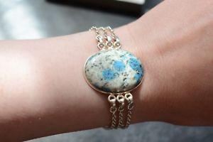 【送料無料】ブレスレット アクセサリ― ブレスレットイギリスgemporia silver, k2 stone, afghanite in granite bracelet, full uk hallmarks, 925