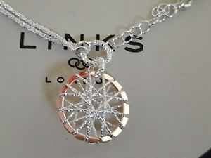 【送料無料】ブレスレット アクセサリ― ロンドンキャッチャーブレスレットブランドリンクgenuine brand links of london 925 silver dream catcher bracelet rrp 95