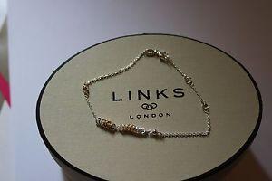 【送料無料】ブレスレット アクセサリ― ロンドンキャンディミニブレスレットリンクgenuine links of london silver sweetie xs mini 9ct ygv 20cm bracelet 50103188