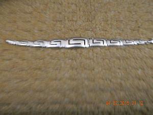 【送料無料】ブレスレット アクセサリ― ギリシャシルバーキーブレスレットgreek silver key bracelet
