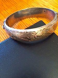 【送料無料】ブレスレット アクセサリ― スターリングシルバービンテージブレスレットsterling hallmarked silver vintage bracelet great look
