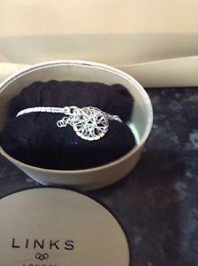 【送料無料】ブレスレット アクセサリ― ロンドンスターリングシルバーブレスレット¥リンクlinks of london timeless sterling silver bracelet rrp 120 bnib