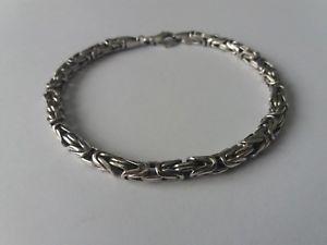 【送料無料】ブレスレット アクセサリ― スターリングリゾーツスターリングシルバーブレスレットインチグラムsterling silver bracelet 95 inches 262 grams