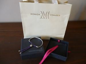 【送料無料】ブレスレット アクセサリ― モニカフィジーボックスブレスレットボックスmonica vinader fiji bracelet boxed with box