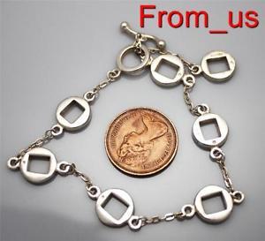 【送料無料】ブレスレット アクセサリ― ビンテージスターリングシルバーレディースバーブレスレットvintage 925 sterling silver ladies hallmarked tbar bracelet  free uk pamp;p