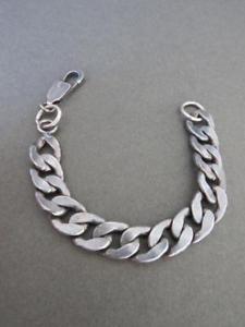 【送料無料】ブレスレット アクセサリ― ビンテージアンカーリンクブレスレットバイカーデザインvintage silver plated anchor link bracelet bikers design
