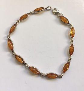 【送料無料】ブレスレット アクセサリ― オレンジオレンジシルバーブレスレットamber real amber silver bracelet real silver