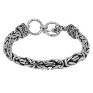 【送料無料】ブレスレット アクセサリ― ボロブドゥールブレスレットシルバーsterling silver borobudur bracelet, silver wt 5103 gms