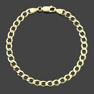 【送料無料】ブレスレット アクセサリ― イエローゴールドブレスレットプレゼンテーションボックス9ct yellow gold 725 curb bracelet presentation boxed