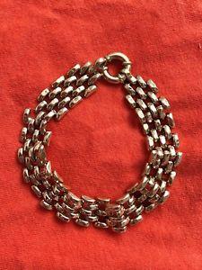 【送料無料】ブレスレット アクセサリ― ゴールドリンクブレスレット9ct gold link bracelet