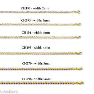 【送料無料】ブレスレット アクセサリ― ソリッドイエローゴールドチェーンレディースブレスレットポストsolid 9ct yellow gold curb chain ladies bracelet hallmarked 75 free uk post