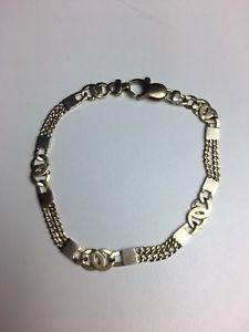 【送料無料】ブレスレット アクセサリ― ゴールドファンシーリンクブレスレット9ct gold fancy link bracelet length 20cm 765g