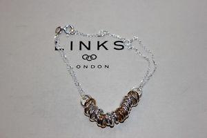 【送料無料】ブレスレット アクセサリ― ロンドンスターリングシルバーキャンディドロップブレスレットリンクgenuine links of london sterling silver sweetie drop 19cm bracelet 50101000