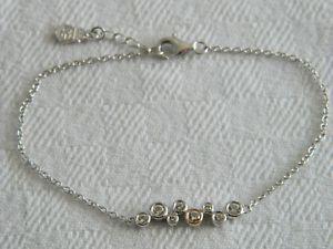 【送料無料】ブレスレット アクセサリ― シルバーローズウェールズゴールドセレブレーショントパーズブレスレットclogau silver amp; 9ct rose welsh gold celebration topaz bracelet rrp 11900