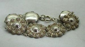 【送料無料】ブレスレット アクセサリ― ビンテージスターリングシルバーファンシーブレスレットvintage very nice sterling silver fancy bracelet