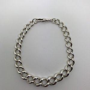 【送料無料】ブレスレット アクセサリ― スターリングシルバービンテージメンズアルバートブレスレットロングsterling silver vintage mens albert bracelet graduated 95 long 3548g