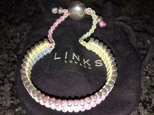 【送料無料】ブレスレット アクセサリ― ロンドンブレスレットリンクlinks of london friendship bracelet