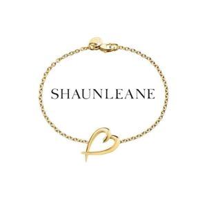 【送料無料】ブレスレット アクセサリ― ショーンゴールドシグネチャーハートブレスレット¥shaun leane ** gold vermeil signature heart bracelet sls589gp rrp 195