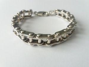 【送料無料】ブレスレット アクセサリ― スターリングシルバーブレスレットインチグラムheavy sterling silver bracelet 85 inches 570 grams