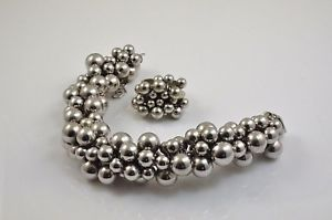 【送料無料】ブレスレット アクセサリ― マルチビーズブレスレットマルチビーズリングマッチングrare sterling silver multi bead bracelet amp; matching multi bead ring 904g