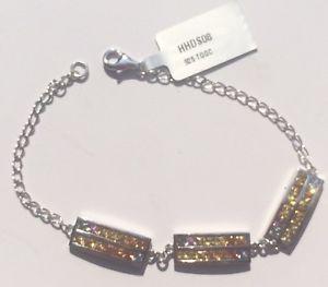 【送料無料】ブレスレット アクセサリ― マルチカラーサファイアスターリングシルバーブレスレットリミテッドエディション502cts multicolour sapphire sterling silver bracelet 75 bnwt v ltd edition