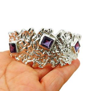 【送料無料】ブレスレット アクセサリ― ソリッドスターリングタスコブレスレットカフボックスsolid 925 sterling taxco silver textured bracelet cuff gift boxed
