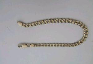 【送料無料】ブレスレット アクセサリ― ブレスレットa lovely 9ct gold curb bracelet hallmarked very good condition