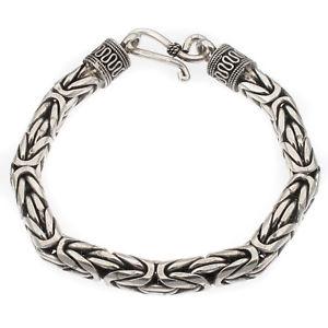 【送料無料】ブレスレット アクセサリ― インドバリブレスレットsterling silver chunky indo bali bracelet hallmarked in the uk length 21cm 82g