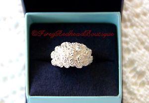 【送料無料】ブレスレット アクセサリ― ホールシルバーリングdower amp; hall silver rosebud ring preloved