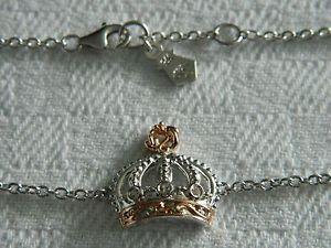 【送料無料】ブレスレット アクセサリ― シルバーウェールズゴールドロイヤルクラウントパーズアフィニティブレスレットclogau silver amp; welsh gold royal crown topaz affinity bracelet rrp 19900