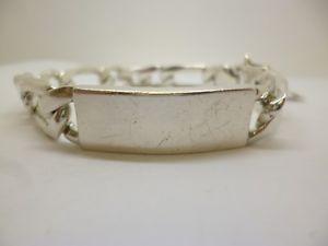 【送料無料】ブレスレット アクセサリ― スターリングシルバーインチフィガロアイデンティティブレスレットsterling silver 9 12 inch figaro identity bracelet 925