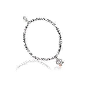 【送料無料】ブレスレット アクセサリ― ウェールズシルバーローズゴールドビーズブレスレット¥ツリーwelsh clogau silver amp; rose gold tree of life origin bead bracelet 30