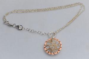 【送料無料】ブレスレット アクセサリ― ロンドンスターリングシルバーリンクローズゴールドブレスレットlinks of london sterling silver amp; rose gold dreamcatcher bracelet 75