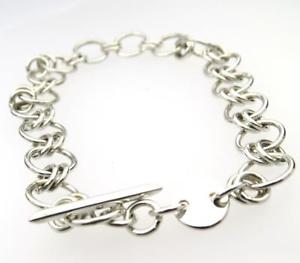【送料無料】ブレスレット アクセサリ― インチソリッドシルバーブレスレットファンキーデザインhandcrafted 75 inch solid silver bracelet funky design british hallmark