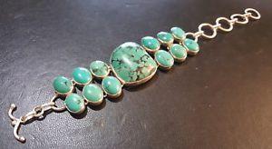 【送料無料】ブレスレット アクセサリ― シルバーターコイズレディースブレスレットsilver 925 turquoise ladies bracelet