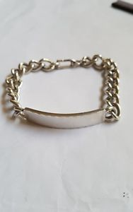 【送料無料】ブレスレット アクセサリ― 925スターリング44グラムidstunning 925 sterling silver bracelet ,chain id heavy 44 grams