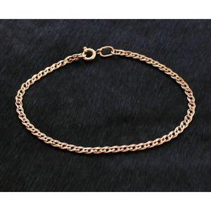 【送料無料】ブレスレット アクセサリ― ロシアローズゴールドブレスレット585 russian rose 14ct gold grandmother bracelet