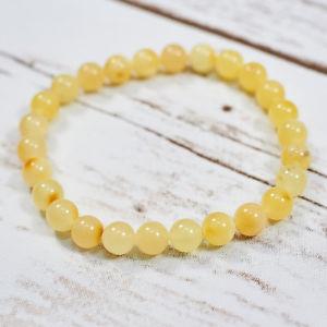 【送料無料】ブレスレット アクセサリ― バルトブレスレット100 genuine natural baltic amber bracelet egg yolk white butterscotch untreated