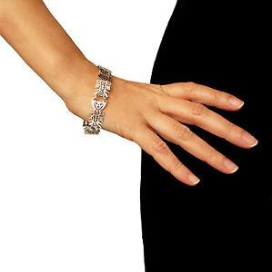 送料無料 ブレスレット アクセサリ― ライフスターリングタスコブレスレット listingtree of life 925 sterling taxco silver braceletFlcTK1Ju3