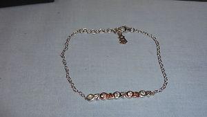 【送料無料】ブレスレット アクセサリ― ウェールズシルバーローズゴールドライフブレスレット¥ツリーwelsh clogau silver amp; rose gold 19cm tree of life bracelet rrp 129