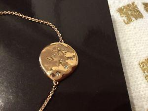 【送料無料】ブレスレット アクセサリ― モニカローズゴールドメッキサイレンホワイトトパーズブレスレットmonica vinader rose gold plated siren scatter bracelet with white topaz