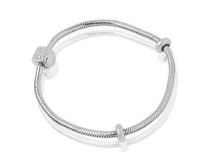 【送料無料】ブレスレット アクセサリ― ウェールズシルバーローズゴールドバレルマイルストーンビーズブレスレット welsh clogau silver amp; rose gold barrel milestones bead bracelet 19cm