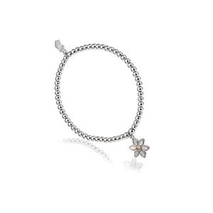 【送料無料】ブレスレット アクセサリ― ウェールズシルバーローズゴールドレディスノードンビーズブレスレット¥icial welsh clogau silver amp; rose gold lady snowdon bead bracelet 20