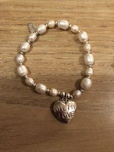 【送料無料】ブレスレット アクセサリ― パールシルバーブレスレット listingchlobo pearl silver bracelet