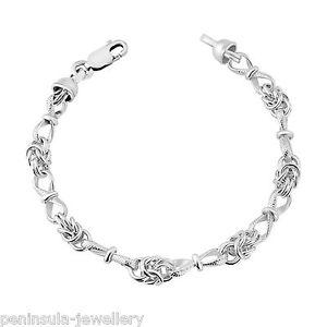 【送料無料】ブレスレット アクセサリ― ブレスレットボックスsterling silver heavy ladies knot and bow 75 bracelet gift boxed