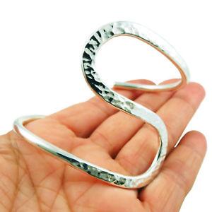 【送料無料】ブレスレット アクセサリ― ワイドカフタスコスターリングシルバーブレスレットwide cuff hallmarked 925 sterling taxco silver bracelet