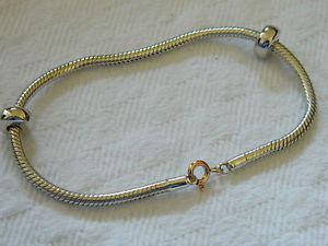 【送料無料】ブレスレット アクセサリ― シルバーウェールズゴールドマイルストーンビーズブレスレットclogau silver amp; welsh gold milestones bead charm bracelet 191cm rrp 16900