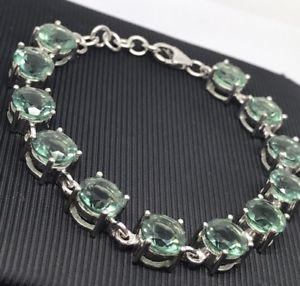 【送料無料】ブレスレット アクセサリ― カイアナイトスターリングシルバーブレスレットインチ¥15ct kyanite sterling silver bracelet 175g 7inch rrp 299