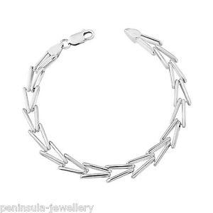 【送料無料】ブレスレット アクセサリ― レディースファンシーリンクブレスレットボックスsterling silver 775 ladies fancy link bracelet gift boxed